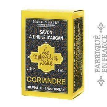 KORIANDER Seife mit Arganöl von Marius Fabre Marseille - 150 g