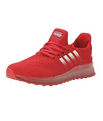 VIR SPORT Air Red Men's Running Shoes (Size: 6)