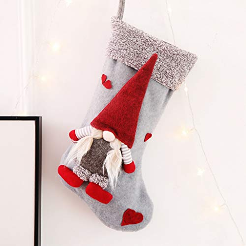 Candy Sugar Skulls Kostüm - Mitlfuny Christmas,Weihnachtsdekoration,Christmas Decorations,Christmas Vacation,Weihnachtsschmuck Faceless Doll Weihnachtssocken Candy Bag Gift Bag