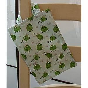 Einkaufsbeutel klein Beutel Einkaufstasche Mini Stoffbeutel Frösche grün Froschkönig Kinder Frosch Tiere