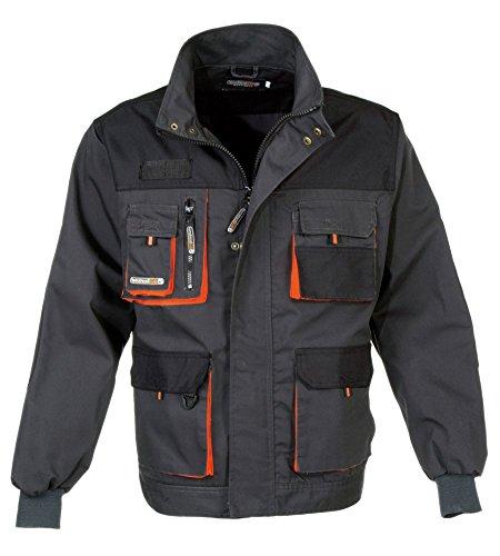 Preisvergleich Produktbild Terratrend JOB Arbeitsjacke, Farbe grau/schwarz/orange, Gre 50