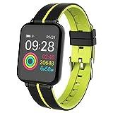 """Smart Watch Fitness Tracker IP67 Impermeabile 1.3 """"IPS Bracciale a colori con frequenza cardiaca / pressione sanguigna, modalità multi-sport, funzione promemoria per Android 4.4 IOS 9.0 o superiore"""