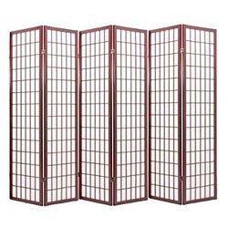 Original Oriental Tradicional Shoji Pantalla Plegable Panel de Suelo p