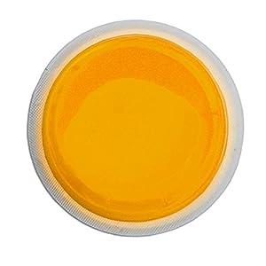 Cyalume LightShape Leuchtmarkierer ringförmig in Orange (10-er Pack) – Leuchtdauer 4h – selbstklebender Leuchtmarkierer mit 8cm Durchmesser