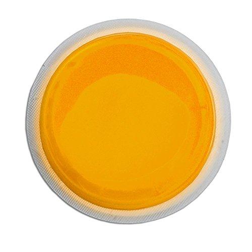 Cyalume LightShape Leuchtmarkierer ringförmig in Orange (100-er Pack) - Leuchtdauer 4h - selbstklebender Leuchtmarkierer mit 8cm Durchmesser - per Druck aktiviert - für Evakuierungen, Triage, Markierungen