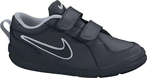 Pico 4 psv scarpe sportive bambino nere pelle strappi 454500 nero 30 eu