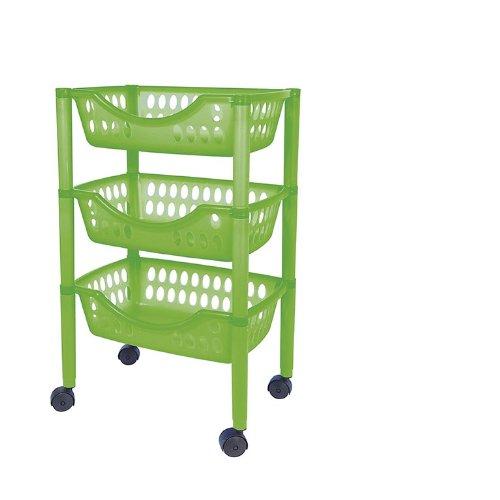 Badezimmer Trolley / Badezimmer Rollwagen Kunststoff In Verschiedenen  Farben (gruen): Amazon.de: Küche U0026 Haushalt