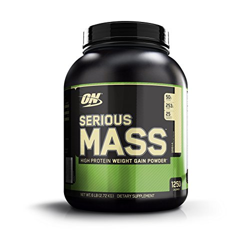 OPTIMUM NUTRITION Serious Mass Protéine Vanille 2.73 kg