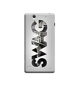 Ebby Premium Printed 3D Designer Back Case Cover For Sony Xperia C4 (Premium Designer Cae)