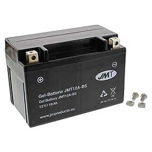 YT12A-BS Gel Batterie für GSX-R 1000 Baujahr 2005-2016 von JMT