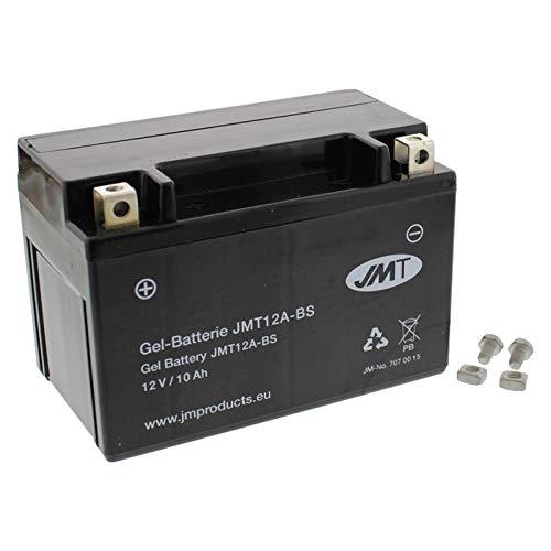 YT12A-BS Gel Batterie für SFV 650 A Gladius ABS Baujahr 2009-2016 von JMT