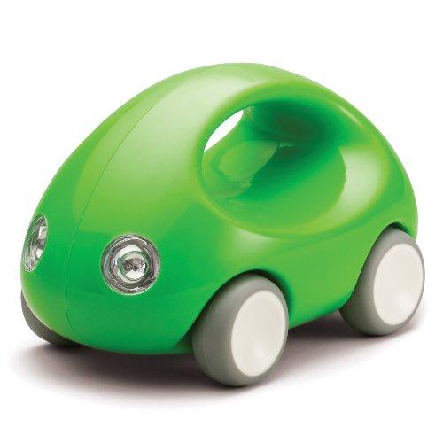 Kid O Auto con Ruote in Gomma e Maniglia - Verde - 15x 9 x 9 cm