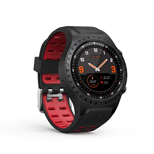 port Smart Watch GPS-Positionskompass IP65 Wasserdichter Remote-Touchscreen Mehrsprachige Bluetooth-Sportuhr ()