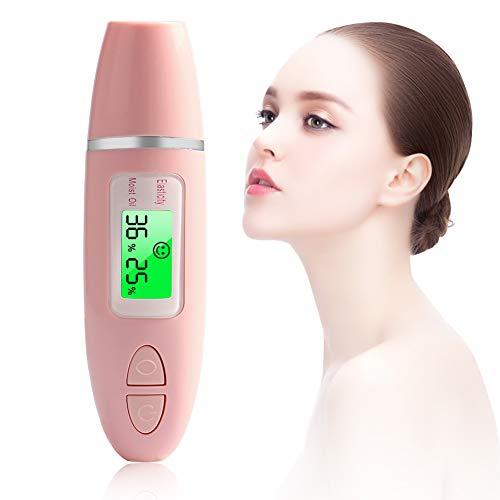Skin Analyzer, Digital Analyzer Monitor for Skin Moisture Oil Skin Testing Tester Pen with LCD Display