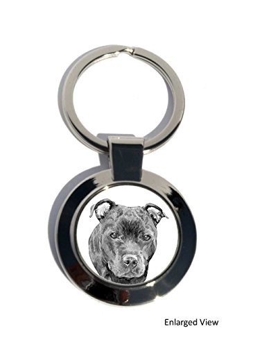 staffordshire-bull-terrier-dog-round-chrome-plated-keyring-gift