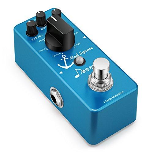Donner, Modulazione digitale con effetto pedale, per chitarra, Mod Square, 7modalità