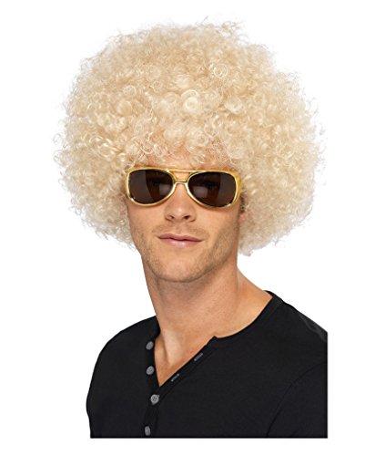 Blonde Funky Afro Perücke (Blonde Afro Perücke)