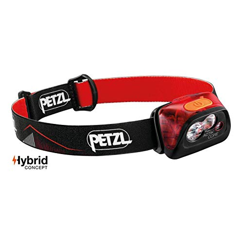 Petzl Unisex's ACTIK CORE HEADLAMP RED, Rot, One