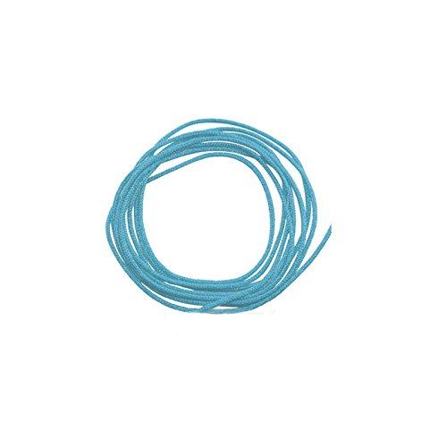 Pinzhi0,8 mm Nylonschnur Gewinde Chinesischen Knoten Macrame Rattail Armband Geflochtene Schnur 45 Mt (Rattail Schnur)