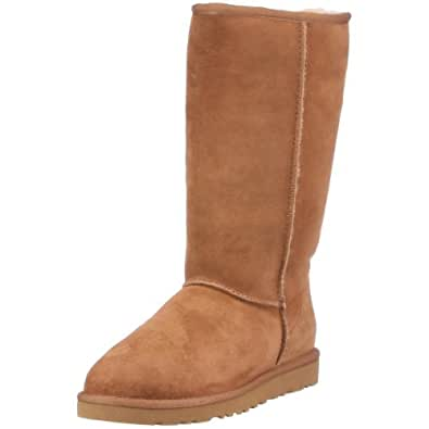ugg Australia Women's Classic Tall Flat, Brown,  Size : 3.5 UK