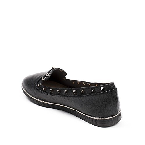 Chaussures Idéal, Moccassini Donna Nero