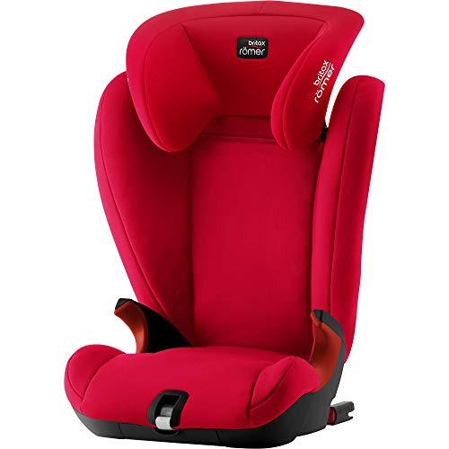 Britax Römer KIDFIX SL Kindersitz 15-36 kg, Autositz Isofix Gruppe 2/3, fire red