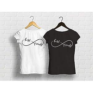 Best Friends T-Shirts Unendlichkeit Beste Freundin