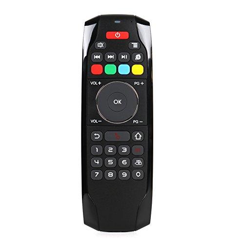 Ocamo G7A 2.4G Intelligente Fernbedienung Controller, wiederaufladbar, kabellose Maus, Tastatur + Multifunktions -