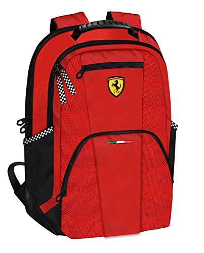 Scuderie Ferrari - Mochila organizada, Color Rojo, 60985