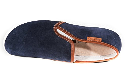Birkenstock Shoes Skye Herren, Mocassins (loafers) Homme Bleu (dark Blue / Sohle Honey)