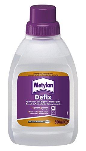 metylan defix liquido distaccante per rimuovere carte da parati e asportare pitture murali a tempera, 500 ml