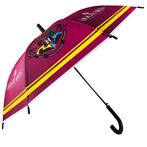 Paraguas Automático Paraguas Harry Potter Escudo Hogwarts Paraguas Infantil Niño Niña 80cm