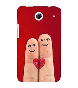 Smiley Fingers 3D Hard Polycarbonate Designer Back Case Cover for Lenovo K880