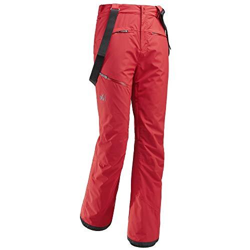 Millet atna peak pant pantaloni da sci uomo, uomo, miv8091, pompeian red, fr : l (taille fabricant : l)