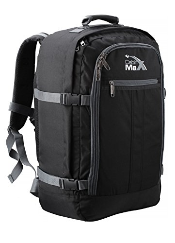 Cabin Max Backpack Flight Approved Carry On Bag Massive 44 litre Travel Hand Luggage 55 x 34 x 20 cm