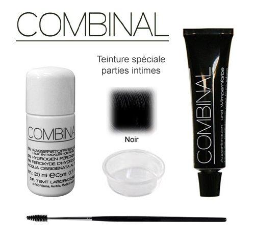 Kit de teinture Intime Combinal, noir
