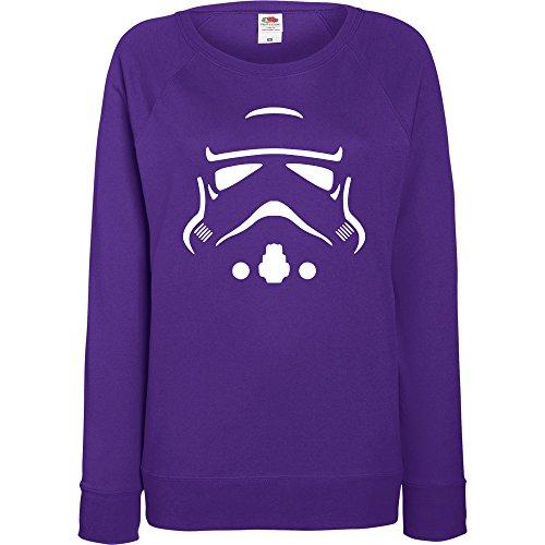 TRVPPY - Sweat Pull, modèle Trooper Storm- Femme, différentes tailles et couleurs Violet