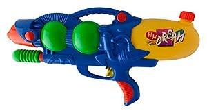 Idena 40299-Pistola de Agua con Pump Función, Azul, Aprox. 46cm