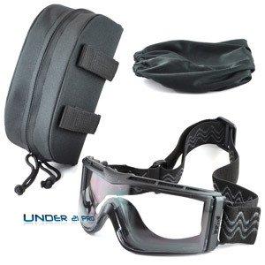 Bolle Tactical Men's X810NPSI Bolle Tatical X810 Ballistische Schutzbrille, Black, Universal