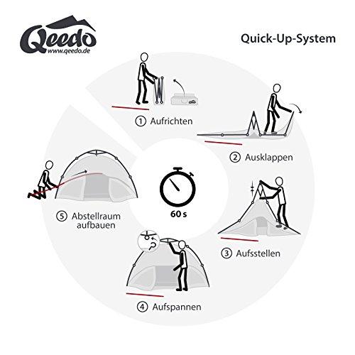 Qeedo Quick Oak 3 Personen Sekundenzelt im Test - 7