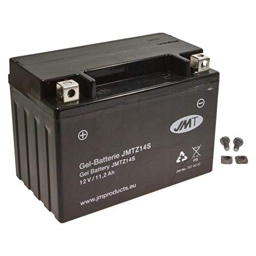 JMT YTZ14S Gel Batterie VT 750 DC Black Widow 2000-2003