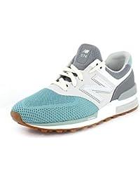 New Balance NBML574SRBD12 - Zapatillas para unisex-adultos, color azul, talla 42.5, Azul, EUR 43