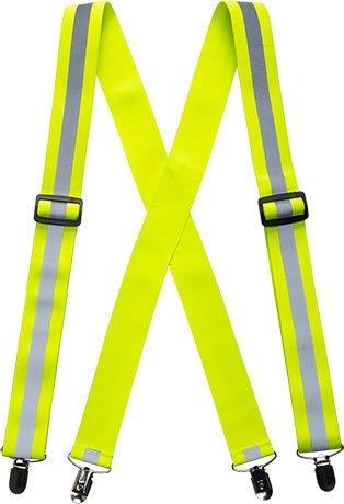 Portwest Hv56yer Bretelles de pantalon haute visibilité, Jaune
