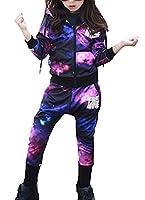 Lukis Spring Autumn Kids Boy Girl Hoodie Jacket Harem Pant Set 2pcs Outfit 150CM
