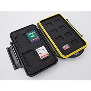 Ares Foto® boîtier de protection / Cas pour les cartes de mémoire / stockage pour 4x SD Cards + 8x Micro SD Cards