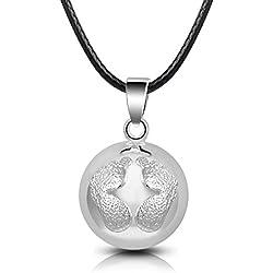 EUDORA Harmony Ball Enfant 925 Sterling Silver Plated