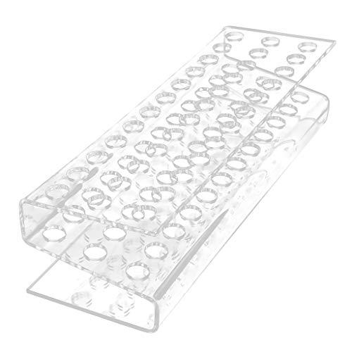 B Blesiya 36-Slots Kästchen für 36 Stifte oder Make-Up Pinsel Acryl Box Kosmetik Organisator...