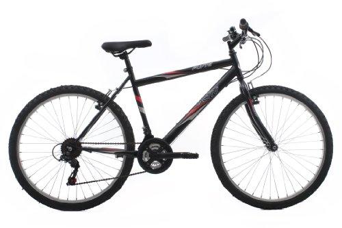 Activ by Raleigh Flyte II Men\'s Rigid Mountain Bike - Black, 19 Inch