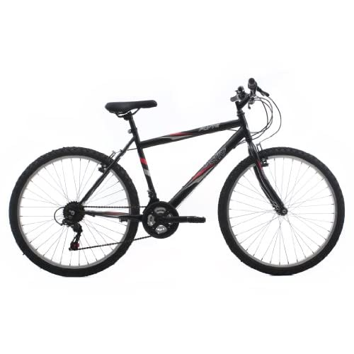 41wZS8q%2BzNL. SS500  - Activ by Raleigh Flyte II Men's Rigid Mountain Bike - Black, 19  Inch