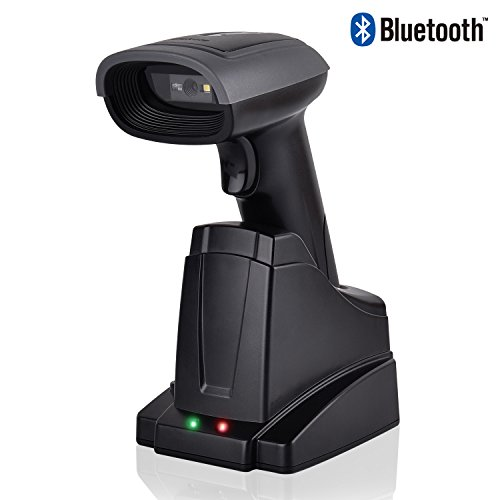 1D y 2D Barcode Scanner escáner de código de barras inalámbrico Blu